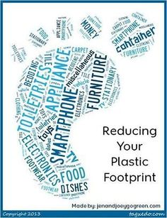 Love these tips! Tips for reducing your plastic footprint @jen @ Go Green