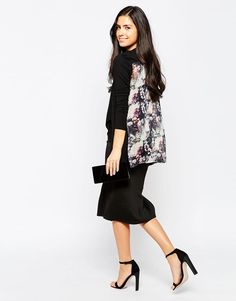 Lipsy | Lipsy Waterfall Cardigan With Contrast Back at ASOS