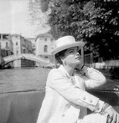 Romy Schneider , Venise , 1957