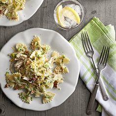 Creamy Chicken and Broccoli Pesto Bow Ties Recipe - Country Living
