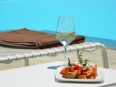 Located in Folegandros, an island that has kept its Aegean legacy untouched by time, Anemi boutique hotel was created to guarantee an amazing hospitality experience combining contemporary design and Cycladic architecture. Global Style, Menu Restaurant, Capri, Lunch, Dishes, Food, Kitchens, Lunches, Flatware