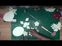 ▶ Spellbinders Poinsettia Flowers (card-making-magic.com) - YouTube