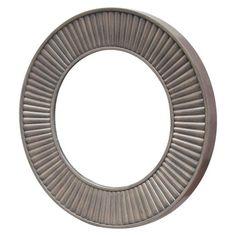 Round grey wall mirror - target