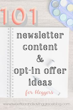 Email Marketing for Bloggers | Sweet Tea & Saving Grace