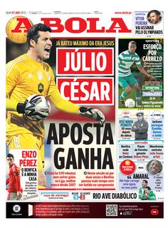 SPORTS And More: #Portugal #Brasil  #JulioCesar national keeper 539...