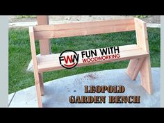 How To Build A Quick And Easy Garden Bench In Under 2 Hours For Less Than $20.00