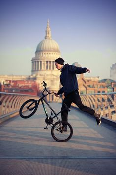 bmx. when i was little, i love watching my brother bmx like a pro. litterly he was a pro. love ya ryan!