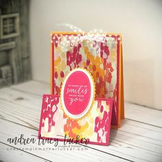 One Stampin' Mother Tucker: Stamp Ink Paper 150 Fancy Fold Challenge