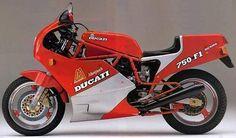 Ducati 750 F1 Montjuich.