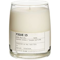 Le Labo, Elizabeth Street, Home Scents, Scented Candles, Glass Of Milk, Packaging Design, Cosmetics, Deco, Outfits