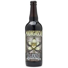 Madagascar by 4 Hands Brewing (Milk Stout) This lusciously thick, inky stout's brewed with vanilla beans and aged in bourbon barrels. The aroma's a dead ringer for a chocolate malt with rich dark chocolate, vanilla and coconut swarming to the nose. The flavor follows suit with sweet chocolate and vanilla in a big, silky body; a little cherry sweetness and peanut weave through the sip. Roasted ash and barrel char in the back signal a long-lasting finish.