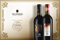 Due ORI per la VELENOSI VINI aI CWSA 2016.  I nostri #ROGGIODELFILARE 2011 e #LUDI 2011 si tingono d'oro al China Wine & Spirits Awards 2016!  Due medaglie per i due vini rossi dal gusto unico e sapore intenso.  -  Two GOLD medal for VELENOSI VINI at CWSA 2016.  Our ROGGIO DEL FILARE 2011 and LUDI 2011 are golden at the China Wine & Spirits Awards 2016!  Two medals for our red wines with an intense and unique taste.  #WorldWine #vinipiceni #CWSA2016 #winelovers