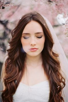 Beauty and the Mist - everything about beauty: Beautiful Bridal Hairstyles for Brunettes and Redheads