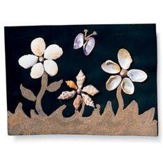 Il quadretto con i fiori di sabbia