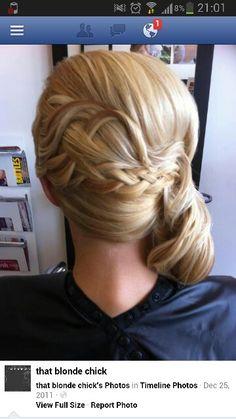 Back of hair idea