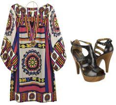 Outfits de Moda ...Me Tomo Cinco Minutos: Estilo Hippie Chic
