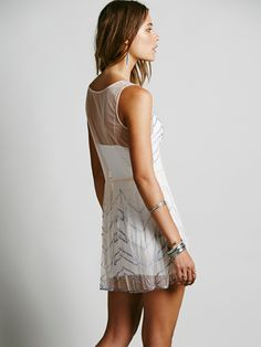 Free People Embellished Slip, $78.00