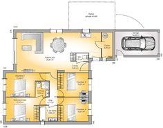 Prix metre carr maison neuve avec ou sans garage avec ou for Achat maison neuve 44