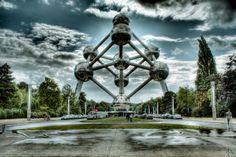 Atomium Brussels HDR by AyseSelen.deviantart.com on @DeviantArt