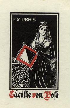 Bookplate ... Bodo von Bose 1903
