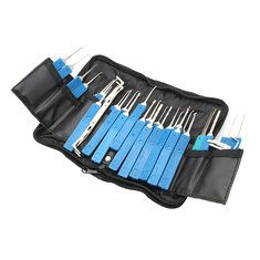 Practical 34 in 1 Multi-function Lockpick Set Unlocking Tool Lock Pick Tools. materiales de construccion
