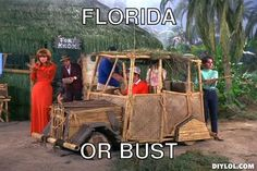 Florida or bust. ;)