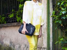 Yellow on Yellow #eleonoracarisi #chanel #yellow