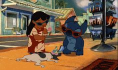 """Stitch wasn't the typical Disney animal sidekick, either. He was a grumpy killing machine. 