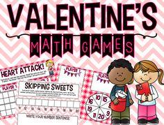 http://www.teacherspayteachers.com/Product/Valentines-Math-Games-FREEBIE-1104529
