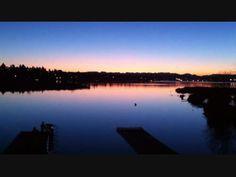 Sunrise over Training Table (Video)