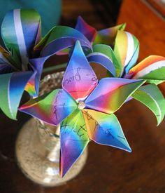 DebOrigami.blog: Flores 2