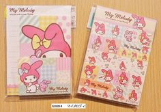 Kamio Japan Sanrio microskirt Hello Kitty letter set - From Hanna