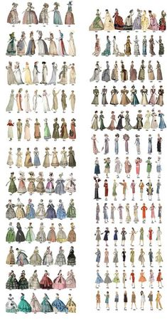 Post with 30446 views. The Relatively Unknown Makers behind 15 Everyday Items we all take for grantedPost with 11795 views. Evolution of women's fashion over the course of two centuriesColor choices to make your designs more effectiveColor combinatio Retro Mode, Mode Vintage, Fashion Design Drawings, Fashion Sketches, Victorian Fashion, Vintage Fashion, Victorian Clothing Women, Vintage Dresses, Vintage Outfits