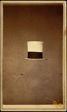 :: Top Hat, Eli W. Buel, ca. 1870 (George Eastman House Collection) ::