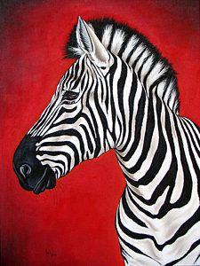 Zebra Print by Ilse Kleyn