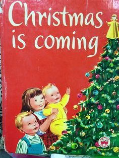 Christmas is coming... Childs book