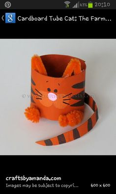 Make a cardboard Cat, then see if you can make the other characters and act out the story!