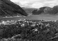 Eidfjord, Hardanger, Hordaland fylke. Foto: Normann