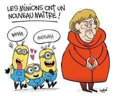 Les minions et Angela