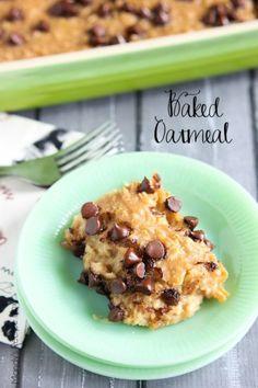 Baked Oatmeal | Mandy's Recipe Box