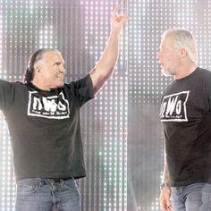 Scott Hall and Kevin Nash Wwe Lucha, Scott Hall, Kevin Nash, Wrestling Wwe, Big Daddy, New World Order, Boba Fett, 4 Life, Athletes
