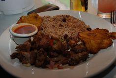 The Haitian national dish!