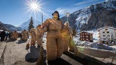 """""""Les Empaillés"""" - Carnaval d'Evolène, Val d'Hérens, Valais, Switzerland Europe, France, Switzerland, Germany, Superhero, Festivals, Events, Culture, Places"""