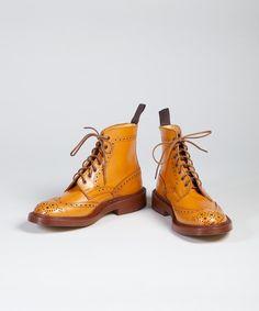 Tricker's Stow Acorn Antique Boot