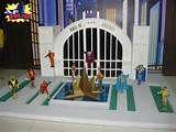 Custom Hall Of Justice Diorama