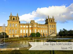 Globetrotter Postcards: Day Trips from London: London to Blenheim Palace