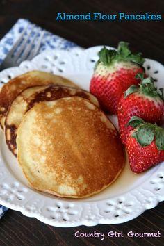 Gluten Free and Paleo Almond Flour Pancakes | Country Girl Gourmet