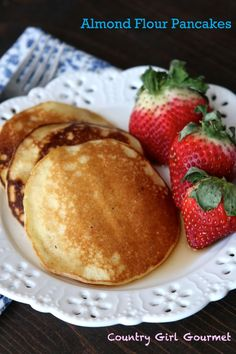 Gluten Free and Paleo Almond Flour Pancakes   Country Girl Gourmet