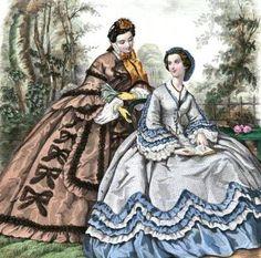 July 1862 La Mode Illustree