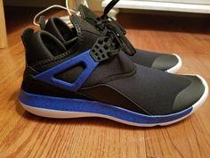 4db19d539be4 New Mens Size 9.5 Nike Air Jordan Fly 89 Shoes Black Blue White 940267 006  Retro